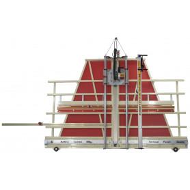 H5VG - Scie à panneaux verticale combinée avec scie à format