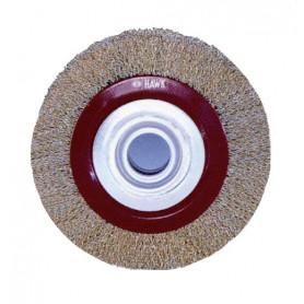 Brosse ronde acier