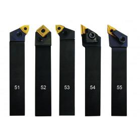 Jeu d'outils de tour 25mm 5pcs