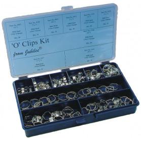 Colliers de serrage - O clips 175pcs