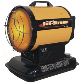 Chauffage infrarouge au fioul 385 m³ - 20,5 kW