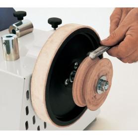 Disque de démorfilage en cuir profilé 100 mm pour NTS255