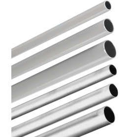 Tube aluminium 28mm 4m Hard