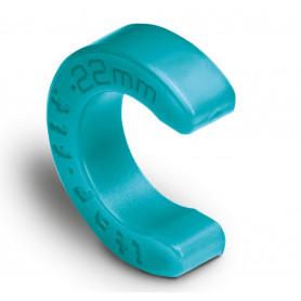 Clip de montage laiton Ø15mm