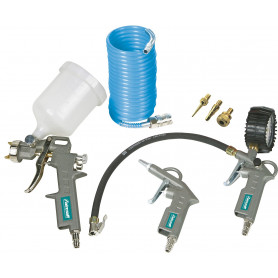 Kit de 7 outils pneumatiques Aircraft