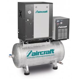 Compresseur à vis 4kW 10Bar 200 l refroidisseur sécheur