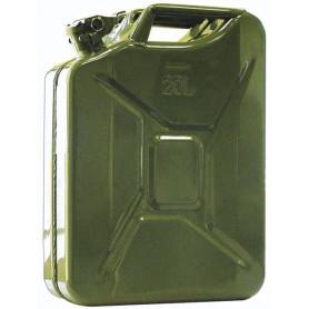 Jerrycan 20 l. en acier pour huile et carburant