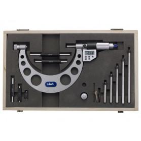 Set de micromètre extérieur digital 5 pièces de mesure 0-150 mm