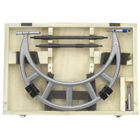 Set de micromètres extérieurs analogiques 2 tiges grande portée