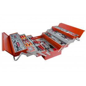 Set de 185 outils dans un coffre