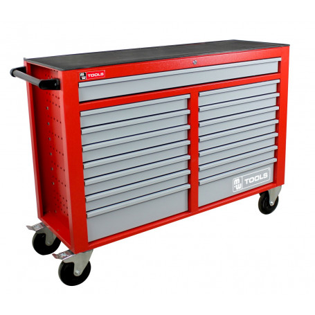 Servante d'outils complète extra large 15 tiroirs 690 outils professionnelle