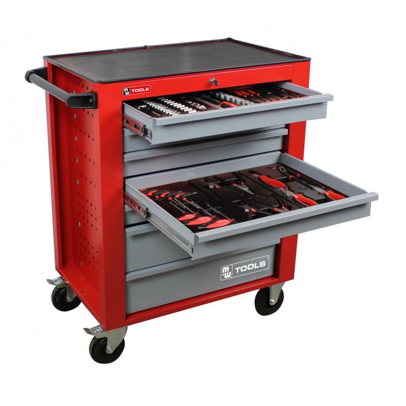 75c0cf846ea85 Servante d'atelier complète 397 outils professionnelle MW-Tools