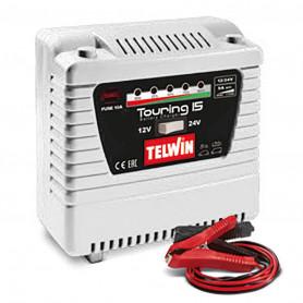 Petit chargeur 12/24 V pour batteries au plomb
