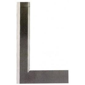 Équerre biseautée acier trempé DIN875/00 avec bords coupants
