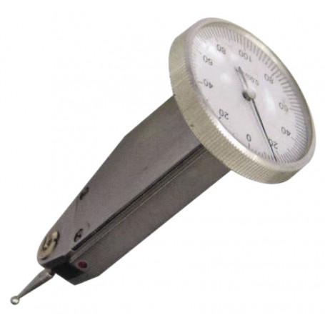 Indicateur à levier vertical ou horizontal 0,01 / 0,002 mm