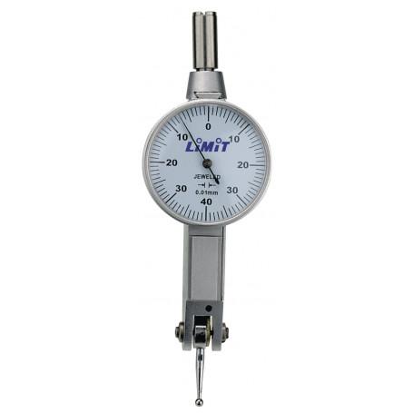 Comparateur à palpeur orientable 0,8 mm / 0,01 mm