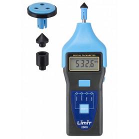 Compte-tours numérique jusqu'à 100 000 tr/min / 2 000 m/min