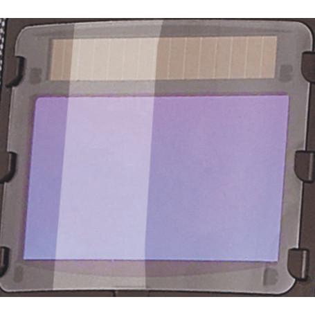 Verres de rechange transparents pour casque de soudure, 2 pièces