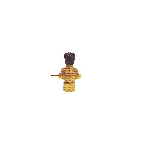 Régulateur de gaz pour bouteilles jetables
