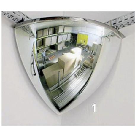 Miroir usage intérieur 90°
