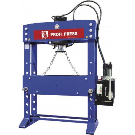 Presse hydraulique d'atelier motorisée XXL 160 t