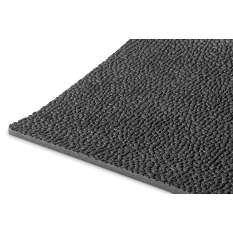 tapis caoutchouc martelé 1m x 1,2m x 3mm