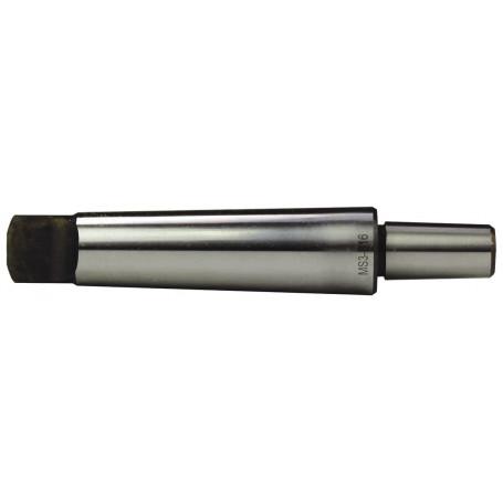 Arbre mandrin porte-foret cône morse DIN228
