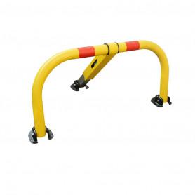 Arceau de parking jaune