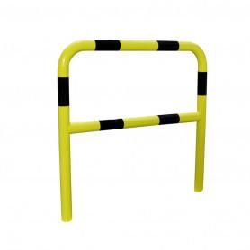 Barrière de sécurite 2 m jaune/noire