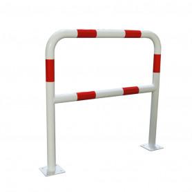 Barrière de sécurité 2 m blanche/rouge