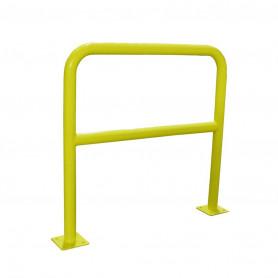 Barrière de sécurité 2 m jaune