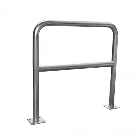 Barrière de sécurité zinc 1m