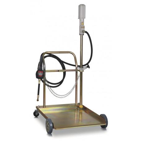Pompe pneumatique mobile