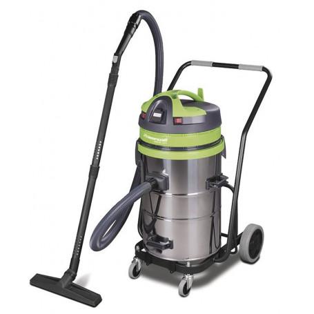 Aspirateur sans sac industriel 1150W, 62L (eau et poussière)