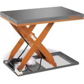 Table élévatrice hydraulique à ciseaux électrique 1T