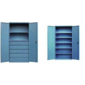 Armoire industrielle à tiroirs - étagères ou casiers