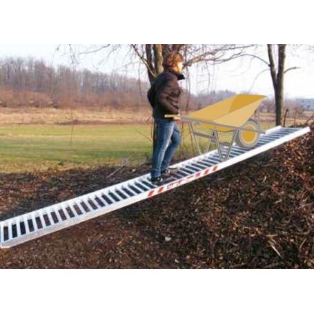 Passerelle/rampe en aluminium