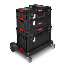 Qbrick QTB11 Servante mobile - 3 coffres sur roues