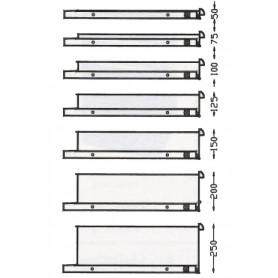 Armoire à tiroirs industrielle 714x600mm