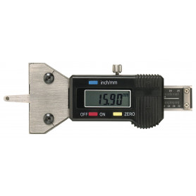 Jauge de profondeur digitale pour mesurer des profiles des pneus