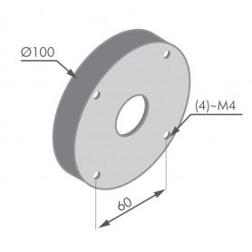 Base magnétique pour lampes de machine