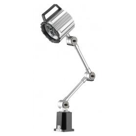 Lampe LED pour machine avec bras mobile et lentille renforcée