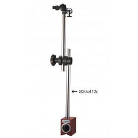Ensemble bras extra long 412 mm et base magnétique 100 kg