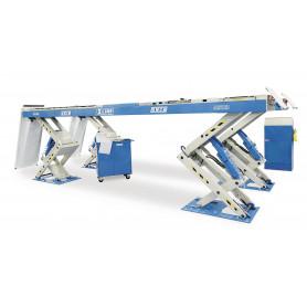 Pont élévateur à ciseaux électrohydraulique X-line 5,5 t OMCN 862