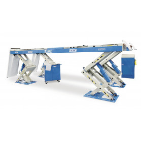 Pont élévateur à ciseaux électrohydraulique X-line 5,5 t OMCN 863
