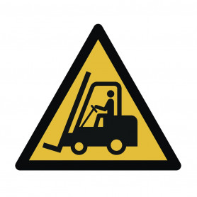 Avertissement véhicules industriels