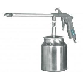Pistolet de nettoyage à air comprimé godet de 1 litre