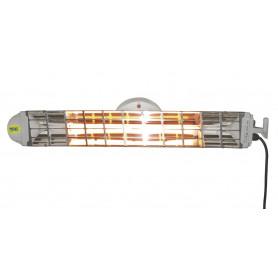 Chauffage infrarouge électrique 4-6m³ 1,2kW