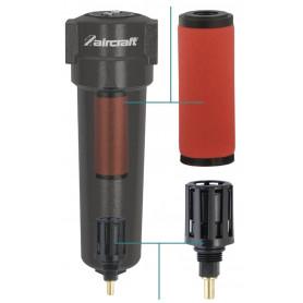 Nanofiltre jusqu'à 0,01 µm / 0,01 mg/cm³