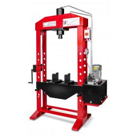 Presse hydraulique d'atelier motorisée 50 t
